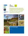 Valuing nature's services: moving towards payments for ecosystem services and conservation credits in the English Uplands (Thumbnail link to record)