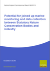 Potential for joined up marine monitoring and data collection between Statutory Nature Conservation Bodies and industry (Thumbnail link to record)
