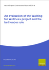 An evaluation of the Walking for Wellness project and the befriender role (Thumbnail link to record)