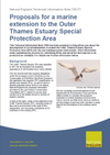 Proposals for a marine extension to the Outer Thames Estuary Special Protection Area (Thumbnail link to record)