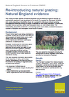 Re-introducing natural grazing: Natural England evidence (Thumbnail link to record)