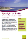 Spotlight on SSSIs - Working towards the goals of Biodiversity 2020: Issue 4 – June 2014 (Thumbnail link to record)