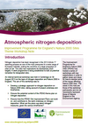 Improvement Programme for England's Natura 2000 Sites (IPENS): Atmospheric nitrogen deposition workshop notes (August 2013) (Thumbnail link to record)