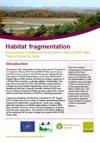 Improvement Programme for England's Natura 2000 Sites (IPENS): Habitat fragmentation workshop notes (Thumbnail link to record)