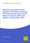 Waterbird population trend analysis of the Mersey Estuary SPA, Mersey Narrows & North Wirral Foreshore pSPA and Ribble & Alt Estuaries SPA (Thumbnail link to record)