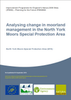 Analysing change in moorland management in the North York Moors Special Protection Area (Thumbnail link to record)