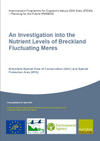 An Investigation into the Nutrient Levels of Breckland Fluctuating Meres (Thumbnail link to record)