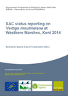 SAC Status reporting on Vertigo moulinsiana in England (Thumbnail link to record)