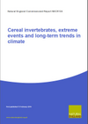 Cereal invertebrates, extreme events and long-term trends in climate (Thumbnail link to record)