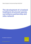 The development of a lowland heathland structured species surveillance partnership and sites network (Thumbnail link to record)