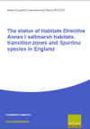 The status of Habitats Directive Annex I saltmarsh habitats, transition zones and Spartina species in England (Thumbnail link to record)