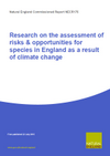 Research on the assessment of risks & opportunities for species in England as a result of climate change (Thumbnail link to record)