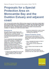 Proposals for a Special Protection Area on Morecambe Bay and the Duddon Estuary and adjacent coast (Thumbnail link to record)