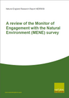 A review of the Monitor of Engagement with the Natural Environment (MENE) survey (Thumbnail link to record)
