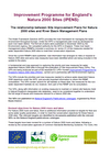 The relationship between Site Improvement Plans for Natura 2000 sites and River Basin Management Plans (Thumbnail link to record)