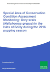 Special Area of Conservation Condition Assessment Monitoring: Grey seals (Halichoerus grypus) in the Isles of Scilly during the 2016 pupping season (Thumbnail link to record)