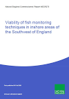 Viability of fish monitoring techniques in inshore areas of the Southwest of England (Thumbnail link to record)