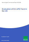 Evaluation of EU LIFE Fund in the UK (Thumbnail link to record)