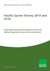 Pacific Oyster Survey 2014 and 2015; Plymouth Sound & Estuaries and Fal & Helford Special Areas of Conservation (Thumbnail link to record)