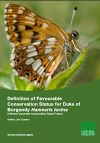 Definition of Favourable Conservation Status for Duke of Burgundy (Thumbnail link to record)