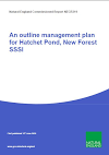 An outline lake management plan for Hatchet Pond, New Forest SSSI (Thumbnail link to record)