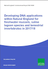 Developing DNA applications within Natural England for freshwater mussels saline lagoon species and terrestrial invertebrates in 2017/18 (Thumbnail link to record)