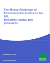 The Messy Challenge of Environmental Justice in the UK: Evolution, Status and Prospects (Thumbnail link to record)
