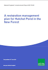 A restoration management plan for Hatchet Pond in the New Forest (Thumbnail link to record)