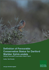 Definition of Favourable Conservation Status for Dartford Warbler (Thumbnail link to record)