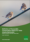 Definition of Favourable Conservation Status for Twite (Thumbnail link to record)