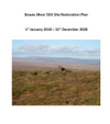 Bowes Moor SSSI Site Restoration Plan January 2018 to December 2028 (Thumbnail link to record)