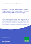 Coastal Change Management Areas Opportunities for sustainable solutions in areas subject to coastal change (Thumbnail link to record)