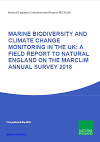 MARINE BIODIVERSITY AND CLIMATE CHANGE MONITORING IN THE UK: A FIELD REPORT TO NATURAL ENGLAND ON THE MARCLIM ANNUAL SURVEY 2018 (Thumbnail link to record)