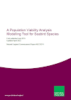 A Population Viability Analysis Modelling Tool for Seabird Species (Thumbnail link to record)