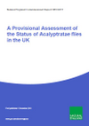 A Provisional Assessment of the Status of Acalyptratae flies in the UK (Thumbnail link to record)