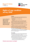 Rights of way condition survey 2000 (Thumbnail link to record)
