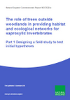 The role of trees outside woodlands in providing habitat and ecological networks for saproxylic invertebrates (Thumbnail link to record)