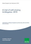 A trial of self-closing bridlegates: 2015 (Thumbnail link to record)