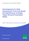 Development of a Risk Assessment Tool to Evaluate the Significance of Septic Tanks Around Freshwater SSSIs (Thumbnail link to record)