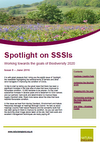 Spotlight on SSSIs – Working towards the goals of Biodiversity 2020: Issue 8 – June  2016 (Thumbnail link to record)