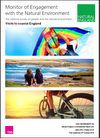 Monitor of Engagement with  the Natural Environment - The national survey on people and the natural environment - Visits to coastal England (Thumbnail link to record)