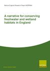 A narrative for conserving freshwater and wetland habitats in England (Thumbnail link to record)