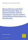 Mersey Narrows and North Wirral Foreshore Sites of Special Scientific Interest - Investigation into the impacts of Recreational Disturbance on Bird Declines (Thumbnail link to record)
