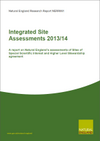 Integrated Site Assessments 2013/14: A report on Natural England's assessments of Sites of Special Scientific Interest and Higher Level Stewardship agreement (Thumbnail link to record)