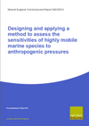 Designing and applying a method to assess the sensitivities of highly mobile marine species to anthropogenic pressures (Thumbnail link to record)