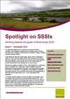 Spotlight on SSSIs – Working towards the goals of Biodiversity 2020: Issue 7 – December 2015 (Thumbnail link to record)