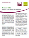 Thursley NNR welcome sheet (Thumbnail link to record)